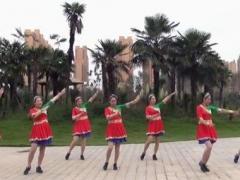 美久广场舞《我有一块五彩田》原创流行舞 附正背面口令分解教学演示