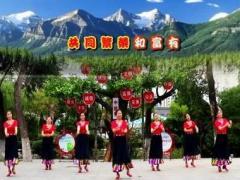 刘荣舞蹈《我祝祖国三杯酒》原创舞蹈 附正背面口令分解教学演示