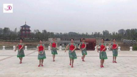 美久广场舞《梦中的兰花花》原创民族舞 附正背面口令分解教学演示