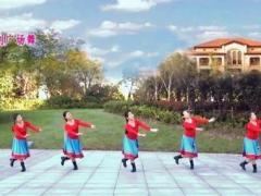 蘇州盛澤雨夜廣場舞《藍色天夢》原創附教學 口令分解動作教學演示