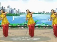 太湖彬彬广场舞《边疆的泉水清又纯》原创经典舞 附教学口令分解动作演示