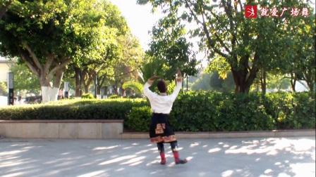 立铭广场舞《康定情人》原创舞蹈 正背面口令分解动作教学演示