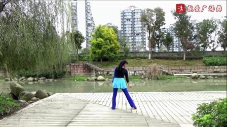 謝春燕廣場舞《真心戀曲》原創舞蹈 正背面口令分解動作教學演示