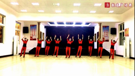 誓言廣場舞《媽媽的舞步》原創舞蹈 正背面口令分解動作教學演示