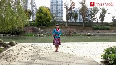 謝春燕廣場舞《丹東的姑娘》原創舞蹈 附正背面口令分解教學演示