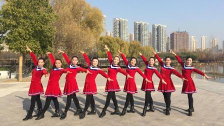 美久广场舞《中国梦》原创现代舞 附正背面口令分解动作教学演示