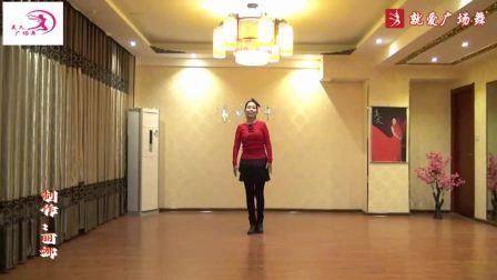 美久广场舞《疯狂爱一回》原创舞蹈 附正背面口令分解教学演示
