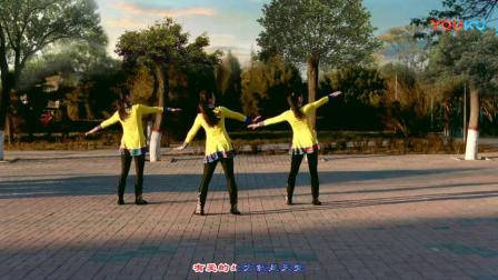 云裳廣場舞《馬背上的薩日朗》原創蒙古健身舞 正背面教學演示