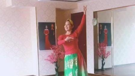 美女导师习舞《女儿情》漂亮