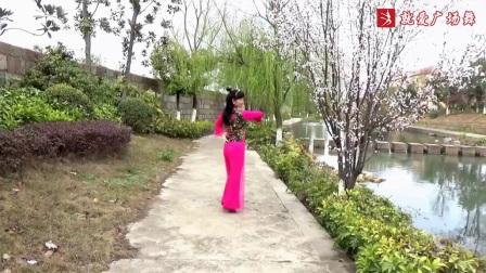 謝春燕廣場舞《春天的故事》抒情形體舞原創附教學口令分解動作演示