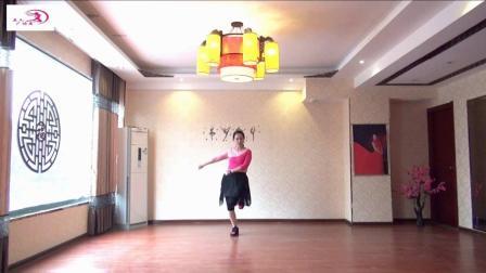 美久广场舞《爱情在草原》原创圆圈舞附导师教学演示