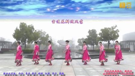 动动广场舞《水边的格桑梅朵》原创附教学口令分解动作演示