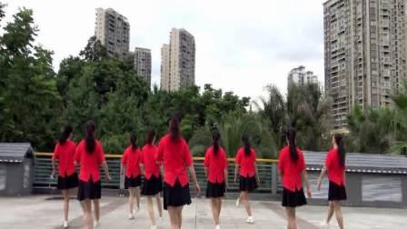 俏木蘭排舞《想你回來》完整版演示及分解教學演示