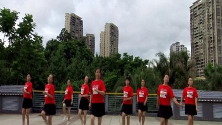 俏木蘭排舞《冒險 45》完整版演示及口令分解動作教學