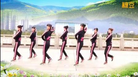 吉美廣場舞《嘟蕾蕾》原創附正背面教學口令分解動作演示