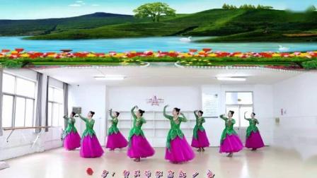 刘荣舞蹈《缘分让我们在一起》附正背表演口令分解动作分解教学