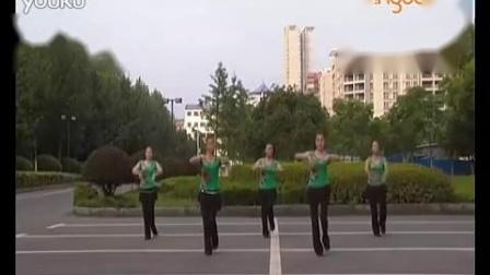 吉美廣場舞《美麗的草原我的家》正背面口令分解動作教學演示