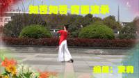 茉莉舞蹈《知否知否》单人背面演示古典形体舞