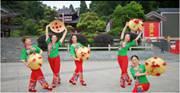 云紫燕舞蹈《过河》正背面演示及口令分解动作教学