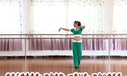 杨丽萍广场舞《缘分惹的祸》原创舞蹈 团队演示 附背面口令分解教学
