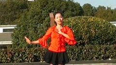 糖豆广场舞课堂《江南梦》正背面演示和茉莉老师慢速口令分解教学