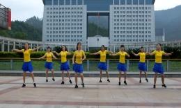 俏木兰广场舞《两个人》原创舞蹈 团队演示