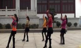 俪影广场舞《傻傻的爱傻傻等待》原创舞蹈 团队演示
