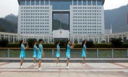 俏木蘭廣場舞《吻恰恰》原創排舞視頻 團隊演示