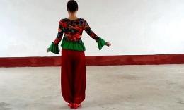 格格广场舞《喜气洋洋》原创舞蹈 含背面分解动作教学