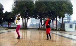 俪影广场舞《两个人》编舞兴梅 双人版