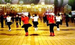 珲春金达莱广场舞《马云说》编舞春英 团队户外版