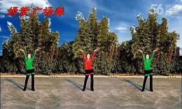 嫣紫广场舞《映山红》编舞重庆叶子