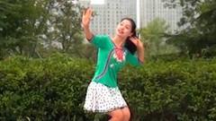 糖豆广场舞课堂《泥人情歌》附正背面演示和茉莉慢速口令分解教学