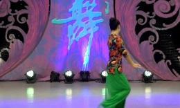 鱼悦广场舞《七朵莲花》编舞艺子龙 正背面教学演示
