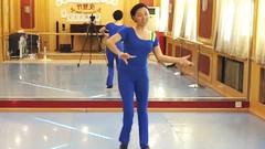 糖豆广场舞课堂《太依赖》正背面演示和萱萱老师慢速口令分解教学