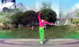龙城依诺广场舞《送你一首吉祥的歌》团队正背面演示 附刘荣老师分解教学