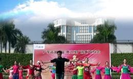 """廣東省第十屆""""舞之緣""""廣場舞順德聯歡會開場舞《我和你》"""
