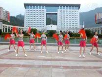 俏木蘭廣場舞《自由飛翔》原創舞蹈 團隊演示
