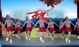 北京加州廣場舞《唱北京》編舞慧文 團隊演示