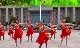 阿梅舞蹈《红红的中国年》编舞刘荣 团队演示