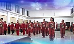 冰凌花广场舞《最美的纪念》宝儿群新年联谊会结束舞