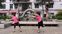 宗群自由广场舞《我的祝福你听到了吗》原创舞蹈 团队演示