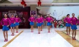 即墨老年大学舞蹈班《小苹果》原创舞蹈 团队演示