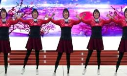 全椒管坝凤妹广场舞《映山红》演示约定 制作袖舞流年