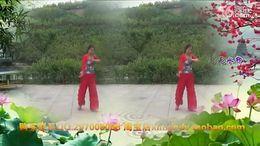 山西三月桃广场舞《我的快乐就是想你》编舞开心飞扬 正背面演示