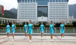 俏木蘭廣場舞《杰羅尼莫》原創排舞視頻 團隊演示