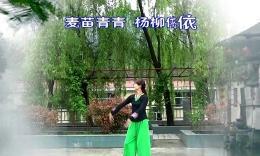 蝶依广场舞《水乡恋曲》原创舞蹈 附正背面教学演示