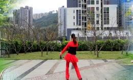 重庆葉子广场舞《DJ穷人富贵梦》附分解和背面演示