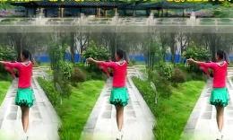 漓江飞舞广场舞《小可乐》原创正背面分解教学演示