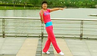 糖豆广场舞课堂《漂亮的姑娘》编舞青儿 团队演示 附正背面口令分解教学